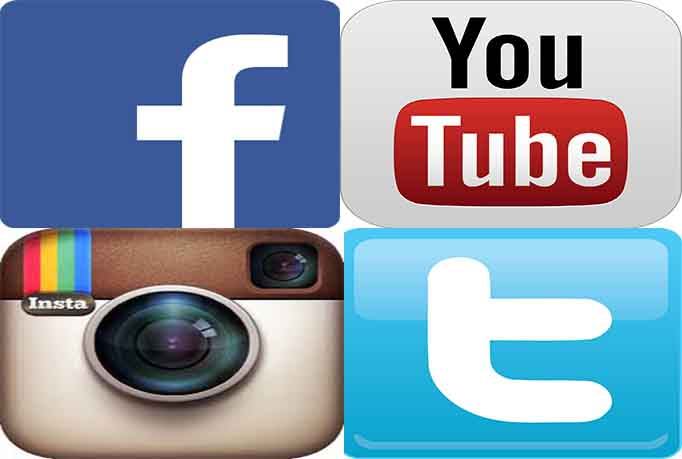1000+ HR YouTube Views or 1000 Facebook likes or 1000 twitter followers or instagram likes