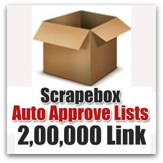 Give You ScrapeBox Premium List - Over 200000 Blog URLS