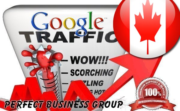 send 1000 visitors via Google.ca by Keyword to your website