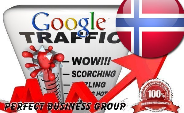 I send 1000 visitors via Google.no by Keyword to your website