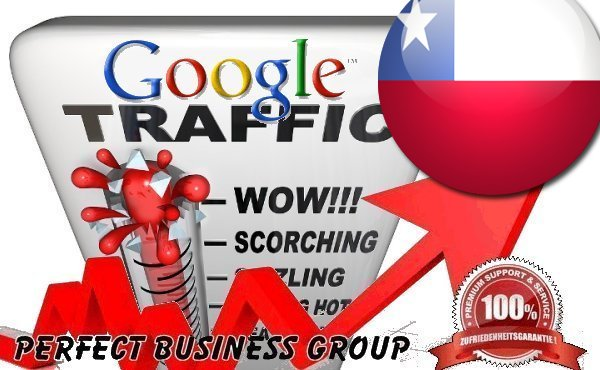 I send 1000 visitors via Google.cl by Keyword to your website