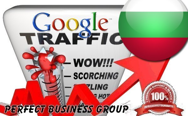 I send 1000 visitors via Google.bg by Keyword to your website