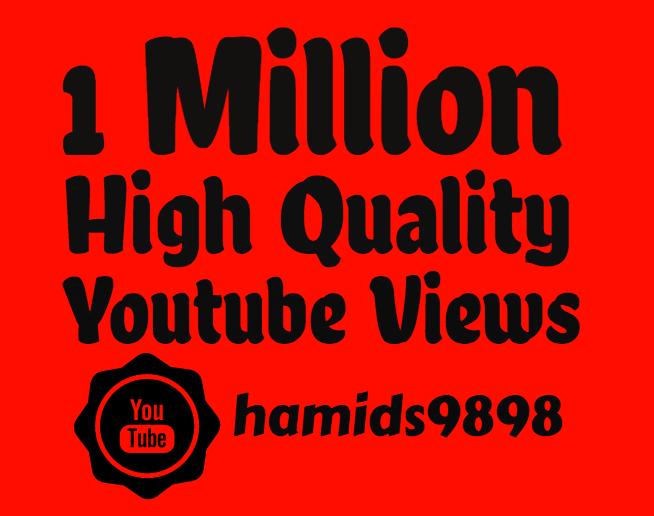 I will add Super Fast 100,000 Youtube View's