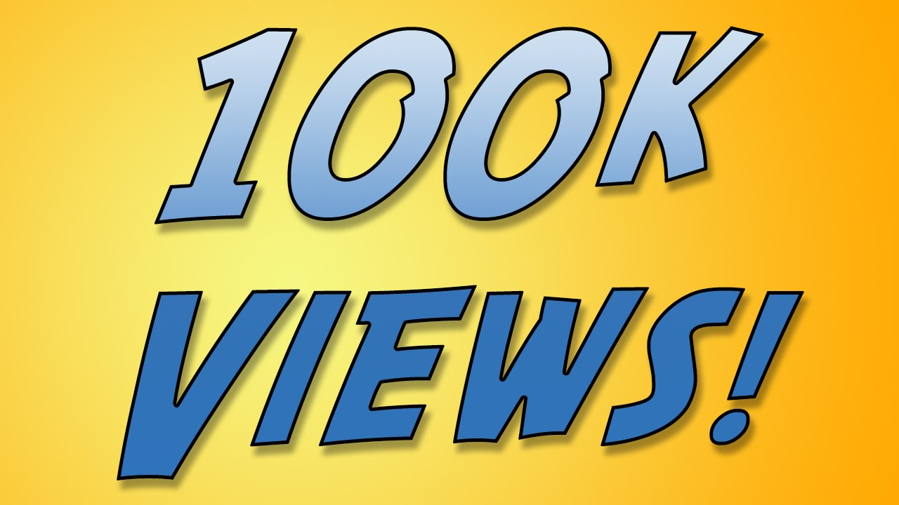 Provide you 100,000+ YOUTUBE SAFE Views + 500 Likes Guaranteed within 72hrs - 96 hrs