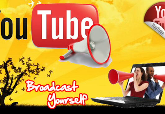 give You 20000+ Very Urgent YOUTUBE Views & 50 Likes  In Less 24 to 48 hours