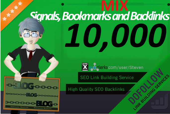 Create 10,000 Social Signals, Backlinks and Social Bookmarks for your website and promote it to 1 MILLION Real Audience on Social and PBN Websites