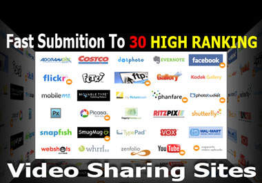 Provide 20 manual video submission for you