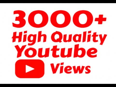 give you 3033++ youtube vie ws in 2 days Fast and SAFE can SPLIT and BONUS 30 li ke