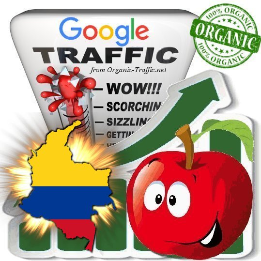 Colombian Search Traffic from Google.com.co (Keyword based)