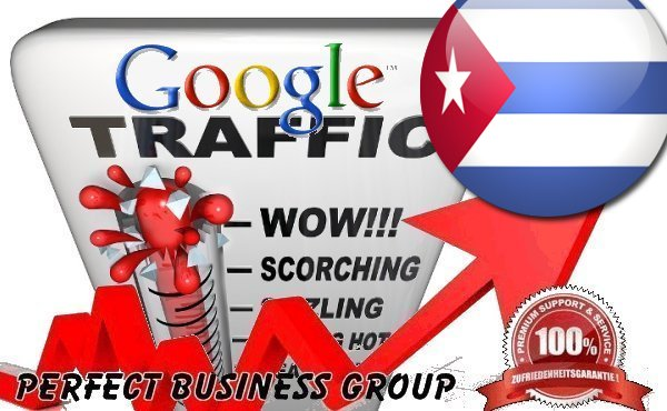 Organic traffic from Google.com.cu (Cuba) with your Keyword