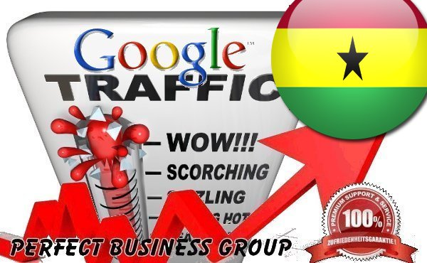 Organic traffic from Google.com.gh (Ghana) with your Keyword