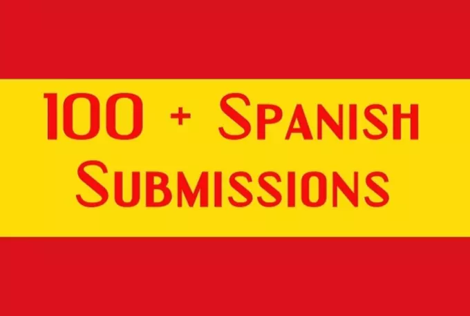 Submit 61 Spanish Web Directory Submissions, Spain
