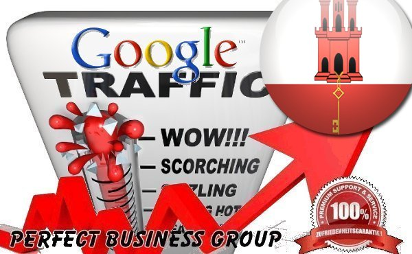 Organic traffic from Google.com.gi (Gibraltar) with your Keyword