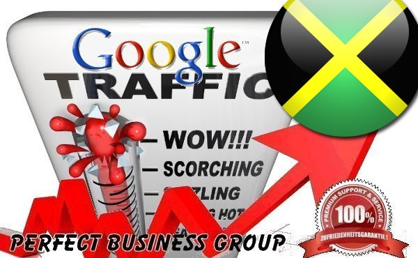 Organic traffic from Google.com.jm (Jamaica)