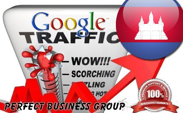 Organic traffic from Google.com.kh (Cambodia)