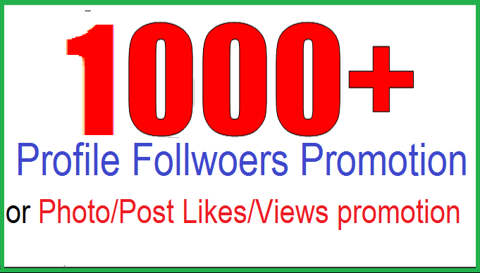 give Fastest 1,000+  FoIowers  OR 1,000 Iikes within 24 hours