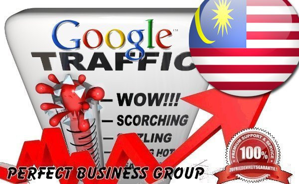 I send 1000 visitors via Google.com.my by Keyword to your website