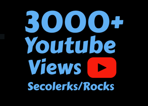 Add 3000+ High Retention Youtube view's