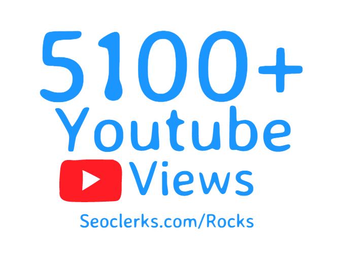Add 5100+ High Retention Youtube views