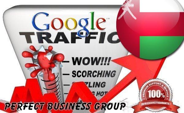 Organic traffic from Google. com. om Oman