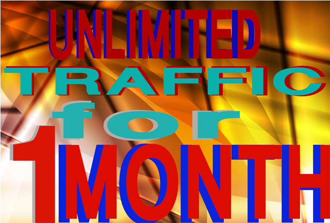 will send unlimited Traffics by Google✺Facebook✺Twitter✺Youtube✺Pinterest traffics to your web/blog for 1 month