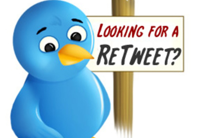 give you 50+ and up to 100+ retweets {read details} from REAL twitter users