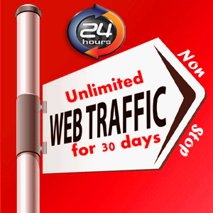 UNLIMITED HUMAN TRAFFIC BY Google ? Facebook ? Twitt... for $30