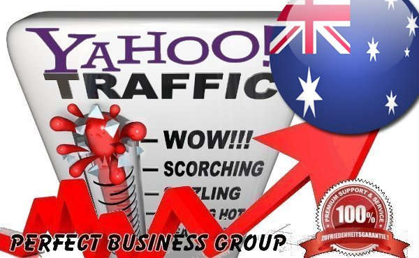 Organic Visitors from Yahoo AU (Australia) with your Keyword