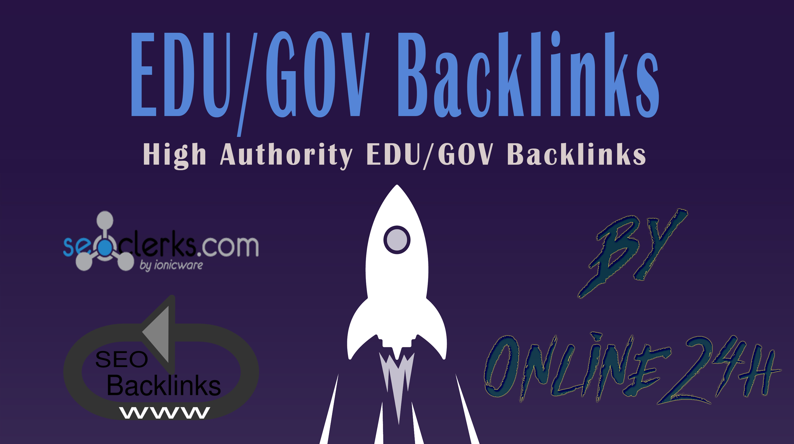 30+ .EDU/.GOV Backlinks From Authority Domains only