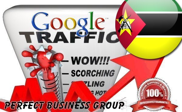 Organic traffic from Google.co.mz (Mozambique) with your Keyword