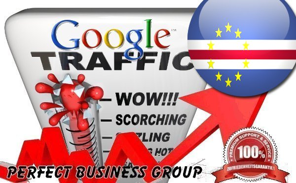 Organic traffic from Google.cv (Cape Verde) with your Keyword