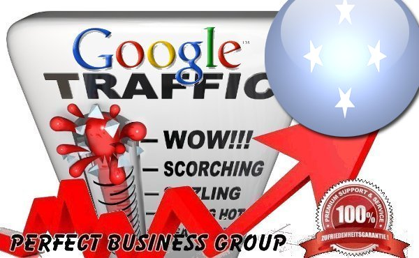 Organic traffic from Google.fm (Micronesia) with your Keyword