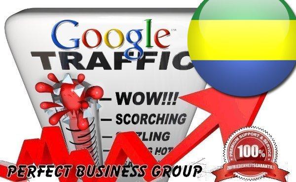Organic traffic from Google.ga (Gabon) with your Keyword
