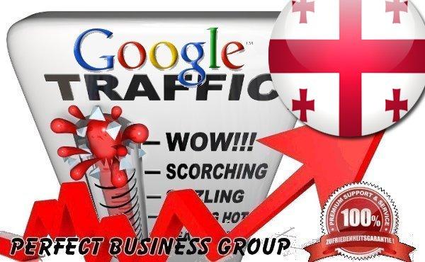 Organic traffic from Google.ge (Georgia) with your Keyword