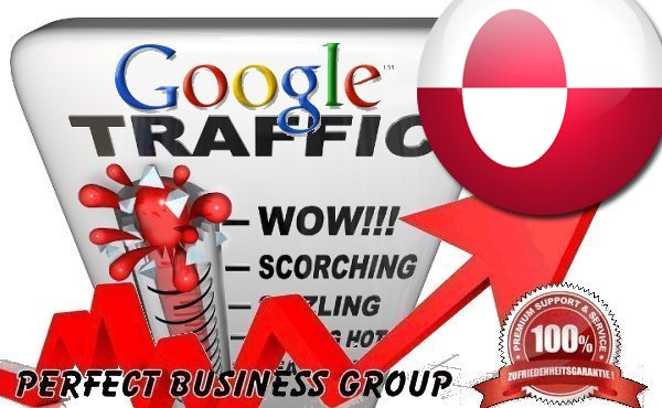 Organic traffic from Google.gl (Greenland) with your Keyword