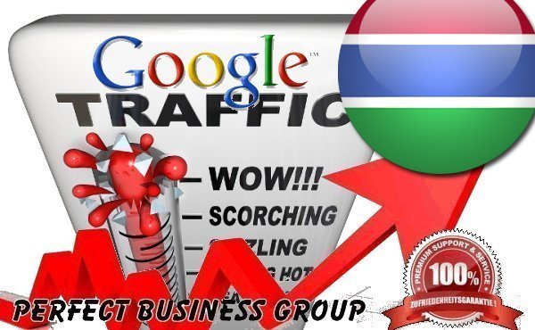 Organic traffic from Google.gm (Gambia) with your Keyword