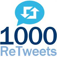 deliver 1000 TARGETED Retweets, JAPANESE  or ARABIC from 1000 unique profiles within 24 hours