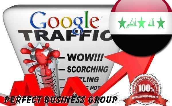 Organic traffic from Google.iq (Iraq) with your Keyword