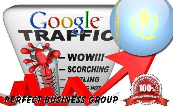 Organic traffic from Google.kz (Kazakhstan) with your Keyword