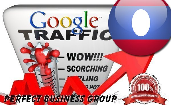 Organic traffic from Google.la (Laos) with your Keyword