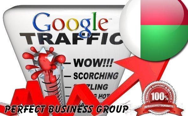 Organic traffic from Google.mg (Madagascar) with your Keyword