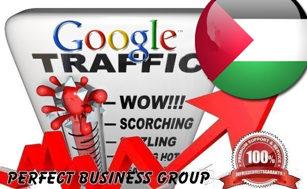 Organic traffic from Google.ps (Palestine) with your Keyword