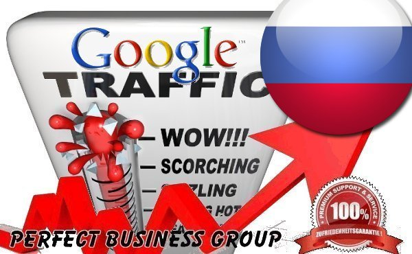 Organic traffic from Google.ru (Russia) with your Keyword