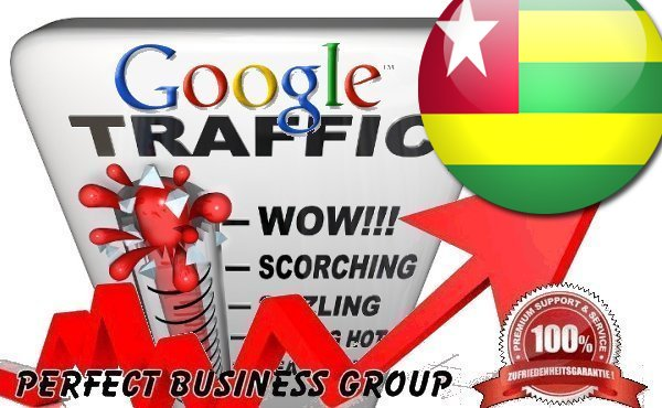 Organic traffic from Google.tg (Togo) with your Keyword