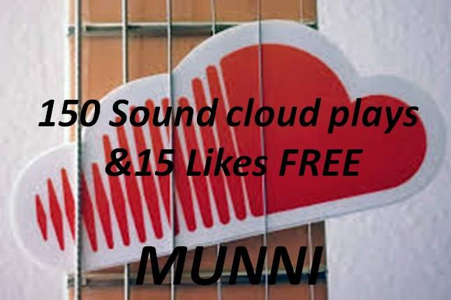 150+ S0undCl0ud plays & 15 like Free