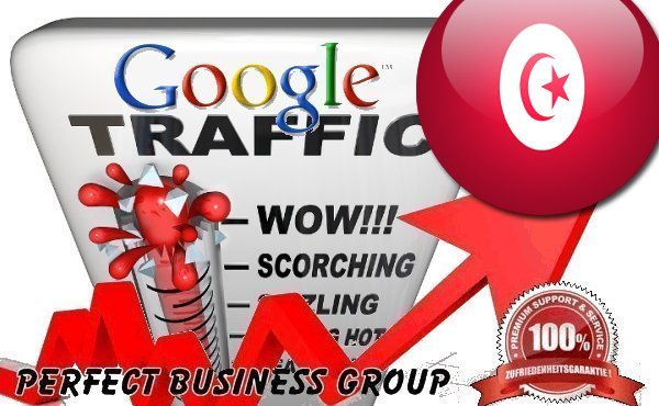 Organic traffic from Google.tn (Tunisia) with your Keyword