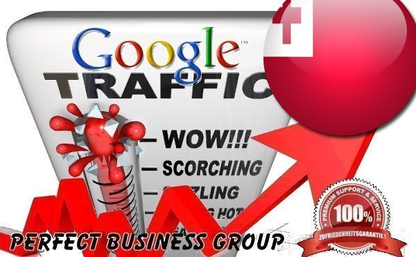 Organic traffic from Google.to (Tonga) with your Keyword