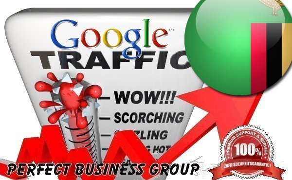 Organic traffic from Google.co.zm (Zambia) with your Keyword