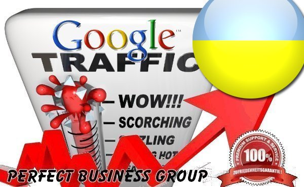 Organic traffic from Google. com. ua Ukraine with your Keyword