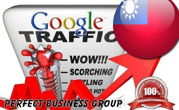Organic traffic from Google.com.tw (Taiwan) with your Keyword